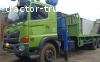Jual Truck Crane Hino 500 Kapasitas 10 Ton tahun 2017 (Update 16 Agustus 2021)